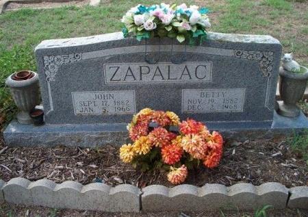 "ZAPALAC, ELIZABETH ""BETTY"" - Bastrop County, Texas | ELIZABETH ""BETTY"" ZAPALAC - Texas Gravestone Photos"
