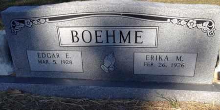 BOEHME, EDGAR E - Bell County, Texas | EDGAR E BOEHME - Texas Gravestone Photos