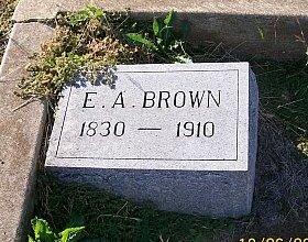 BROWN, ELIAS ALEXANDER - Bell County, Texas | ELIAS ALEXANDER BROWN - Texas Gravestone Photos