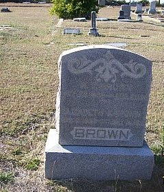 HAMBY BROWN, ELIZABETH JANE - Bell County, Texas | ELIZABETH JANE HAMBY BROWN - Texas Gravestone Photos