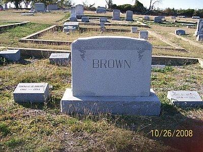 BROWN, FAMILY STONE - Bell County, Texas   FAMILY STONE BROWN - Texas Gravestone Photos