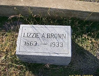BROWN, LIZZIE A. - Bell County, Texas | LIZZIE A. BROWN - Texas Gravestone Photos