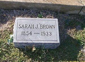 BROWN, SARAH JANE - Bell County, Texas | SARAH JANE BROWN - Texas Gravestone Photos