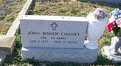 CHANEY (VETERAN), JOHN BISHOP - Bell County, Texas | JOHN BISHOP CHANEY (VETERAN) - Texas Gravestone Photos