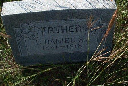 DANIEL, SR., LUCIUS - Bell County, Texas | LUCIUS DANIEL, SR. - Texas Gravestone Photos
