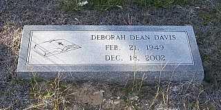 DAVIS, DEBORAH DEAN - Bell County, Texas | DEBORAH DEAN DAVIS - Texas Gravestone Photos