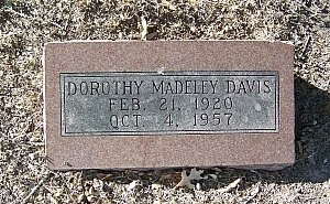 DAVIS, DOROTHY NELL - Bell County, Texas   DOROTHY NELL DAVIS - Texas Gravestone Photos