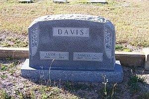 DAVIS, SAMUEL GRANT - Bell County, Texas | SAMUEL GRANT DAVIS - Texas Gravestone Photos