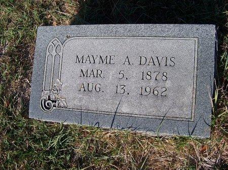 DAVIS, MAYME A. - Bell County, Texas | MAYME A. DAVIS - Texas Gravestone Photos