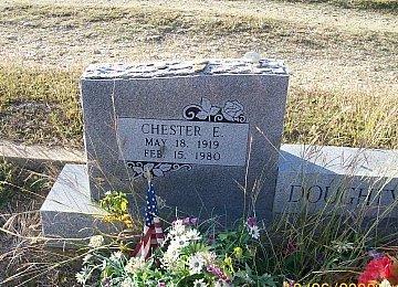 DOUGHTY, CHESTER EUGENE   (CLOSEUP) - Bell County, Texas | CHESTER EUGENE   (CLOSEUP) DOUGHTY - Texas Gravestone Photos