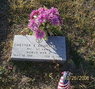 DOUGHTY, SR. (VETERAN WWII), CHESTER EUGENE - Bell County, Texas | CHESTER EUGENE DOUGHTY, SR. (VETERAN WWII) - Texas Gravestone Photos