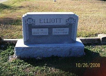 ELLIOTT, CALLIE - Bell County, Texas | CALLIE ELLIOTT - Texas Gravestone Photos