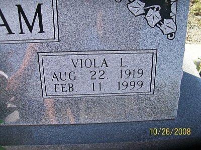 GRISHAM, VIOLA L.  (CLOSEUP) - Bell County, Texas | VIOLA L.  (CLOSEUP) GRISHAM - Texas Gravestone Photos