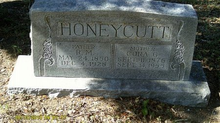 HONEYCUTT, CORA GENETTA - Bell County, Texas | CORA GENETTA HONEYCUTT - Texas Gravestone Photos