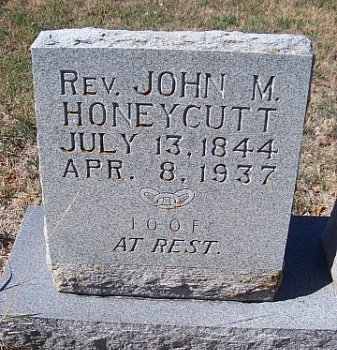 HONEYCUTT, JOHN M. - Bell County, Texas | JOHN M. HONEYCUTT - Texas Gravestone Photos