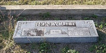 "HONEYCUTT, PALISTINE ""PALLY"" - Bell County, Texas 