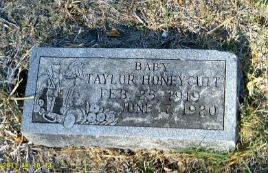 HONEYCUTT, TAYLOR - Bell County, Texas | TAYLOR HONEYCUTT - Texas Gravestone Photos