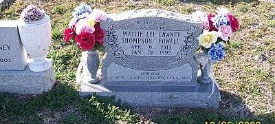 POWELL, MATTIE LEE - Bell County, Texas | MATTIE LEE POWELL - Texas Gravestone Photos