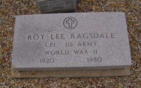 RAGSDALE (VETERAN WWII), ROY LEE - Bell County, Texas   ROY LEE RAGSDALE (VETERAN WWII) - Texas Gravestone Photos
