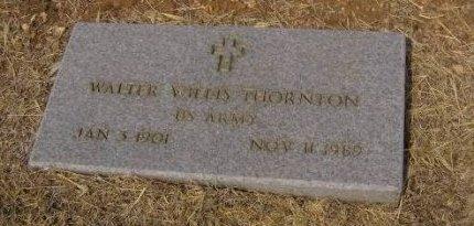 THORNTON, JR. (VETERAN), WALTER WILLIS - Bell County, Texas | WALTER WILLIS THORNTON, JR. (VETERAN) - Texas Gravestone Photos