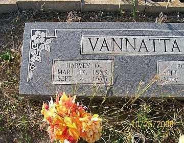 VANNATTA, HARVEY ORAN (CLOSEUP) - Bell County, Texas | HARVEY ORAN (CLOSEUP) VANNATTA - Texas Gravestone Photos