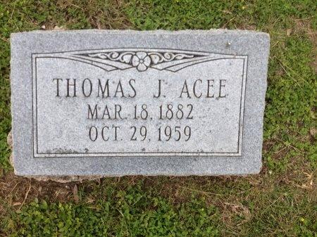 ACEE, THOMAS J. - Bexar County, Texas   THOMAS J. ACEE - Texas Gravestone Photos