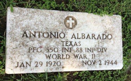 ALBARADO (VETERAN WWII), ANTONIO - Bexar County, Texas | ANTONIO ALBARADO (VETERAN WWII) - Texas Gravestone Photos