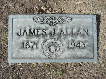 ALLAN, JAMES JOSEPH - Bexar County, Texas | JAMES JOSEPH ALLAN - Texas Gravestone Photos