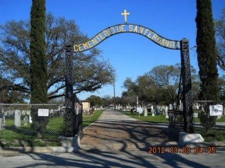 *CEMETERY ENTRANCE,  - Bexar County, Texas |  *CEMETERY ENTRANCE - Texas Gravestone Photos