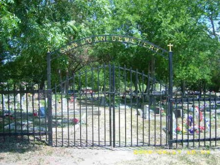 *CEMETERY GATE WITH SIGN,  - Bexar County, Texas    *CEMETERY GATE WITH SIGN - Texas Gravestone Photos
