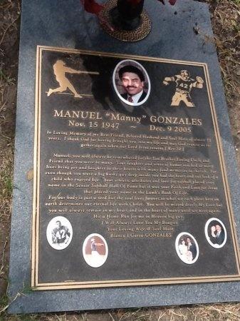 "GONZALES, MANUEL ""MANNY"" - Bexar County, Texas | MANUEL ""MANNY"" GONZALES - Texas Gravestone Photos"