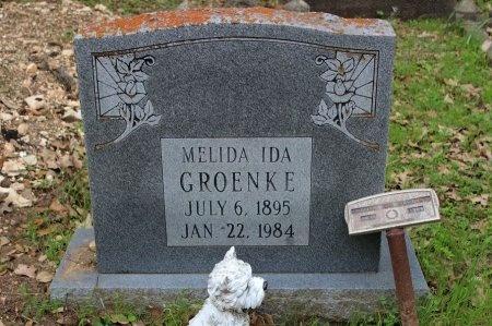 REMMLER GROENKE, MELIDA IDA - Bexar County, Texas | MELIDA IDA REMMLER GROENKE - Texas Gravestone Photos