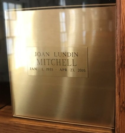 LUNDIN MITCHELL, JOAN - Bexar County, Texas | JOAN LUNDIN MITCHELL - Texas Gravestone Photos