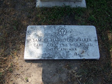WALKER (VETERAN MAW), SAMUEL HAMPTON - Bexar County, Texas | SAMUEL HAMPTON WALKER (VETERAN MAW) - Texas Gravestone Photos