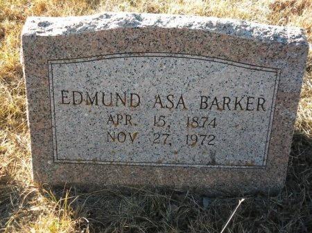 BARKER, EDMUND ASA - Blanco County, Texas | EDMUND ASA BARKER - Texas Gravestone Photos