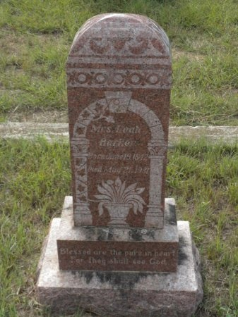 HUMPHRIES BARKER, LEAH - Blanco County, Texas | LEAH HUMPHRIES BARKER - Texas Gravestone Photos