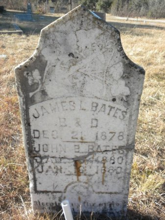 BATES, JOHN BRITTON - Blanco County, Texas | JOHN BRITTON BATES - Texas Gravestone Photos
