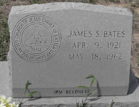 BATES, JAMES SOLAN - Blanco County, Texas | JAMES SOLAN BATES - Texas Gravestone Photos