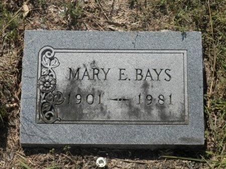 HERWIG BAYS, MARY ELLEN - Blanco County, Texas | MARY ELLEN HERWIG BAYS - Texas Gravestone Photos