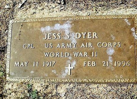 DYER (VETERAN WWII), JESS S. - Blanco County, Texas | JESS S. DYER (VETERAN WWII) - Texas Gravestone Photos
