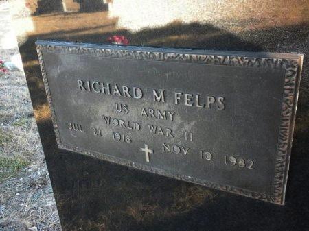 FELPS (VETERAN WWII), RICHARD MILAM  - Blanco County, Texas | RICHARD MILAM  FELPS (VETERAN WWII) - Texas Gravestone Photos