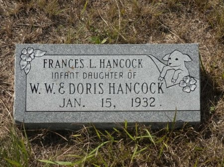 HANCOCK, FRANCES L. - Blanco County, Texas   FRANCES L. HANCOCK - Texas Gravestone Photos