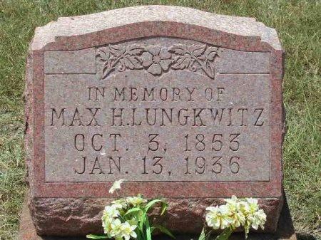 LUNGKWITZ, MAX H. - Blanco County, Texas   MAX H. LUNGKWITZ - Texas Gravestone Photos