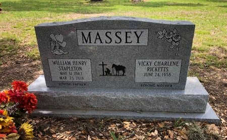MASSEY, WILLIAM HENRY STAPLETON - Blanco County, Texas | WILLIAM HENRY STAPLETON MASSEY - Texas Gravestone Photos