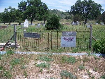 *MILLER CREEK VIEW,  - Blanco County, Texas |  *MILLER CREEK VIEW - Texas Gravestone Photos