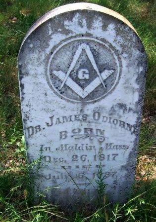 ODIORNE, JAMES, DR. - Blanco County, Texas   JAMES, DR. ODIORNE - Texas Gravestone Photos
