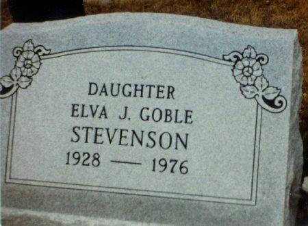 STEVENSON, ELVA JEAN - Blanco County, Texas | ELVA JEAN STEVENSON - Texas Gravestone Photos