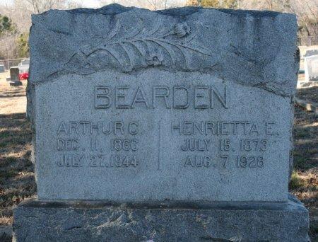 MOORE BEARDEN, HENRIETTA E. - Bosque County, Texas   HENRIETTA E. MOORE BEARDEN - Texas Gravestone Photos