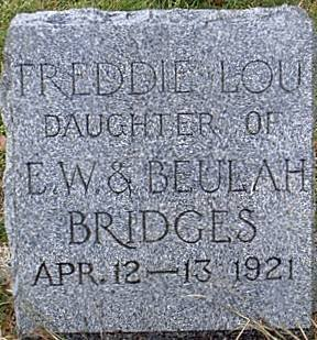 BRIDGES, FREDDIE LOU - Bosque County, Texas   FREDDIE LOU BRIDGES - Texas Gravestone Photos