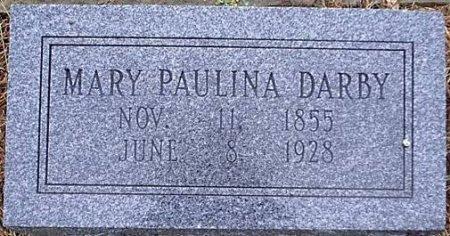 MOONEY DARBY, MARY PAULINA - Bosque County, Texas | MARY PAULINA MOONEY DARBY - Texas Gravestone Photos